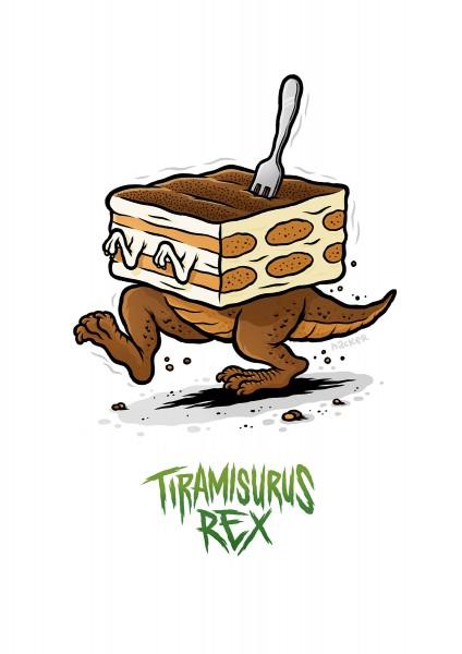 Michael Hacker: Tiramisurus Rex