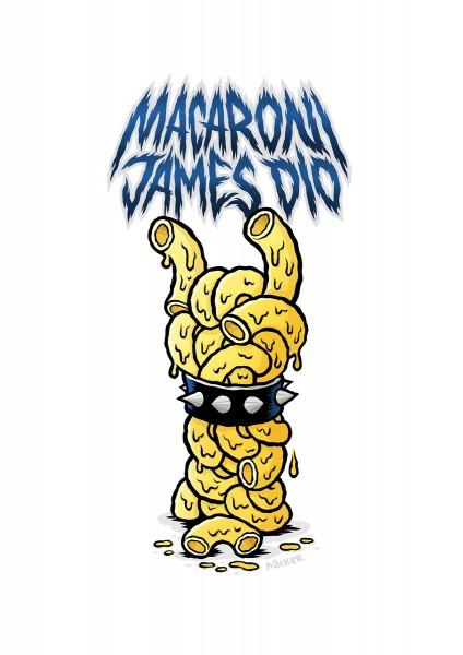 Michael Hacker: Macaroni James Dio