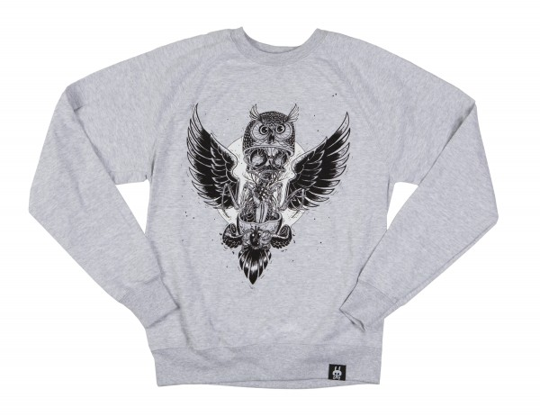 SWEATER. DISSECTION OF AN OWL
