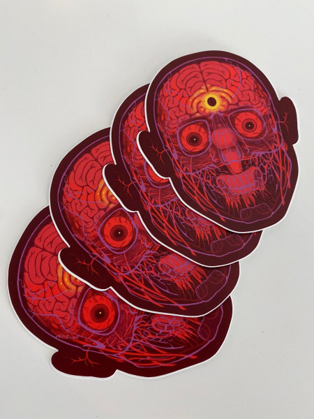 NYCHOS: Two To Look - One To See - Sticker