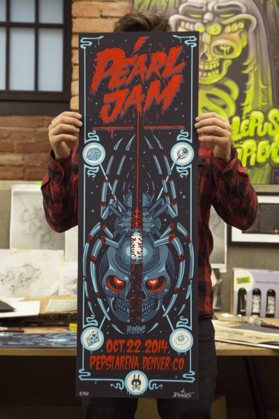 NYCHOS: PEARL JAM GIGPOSTER