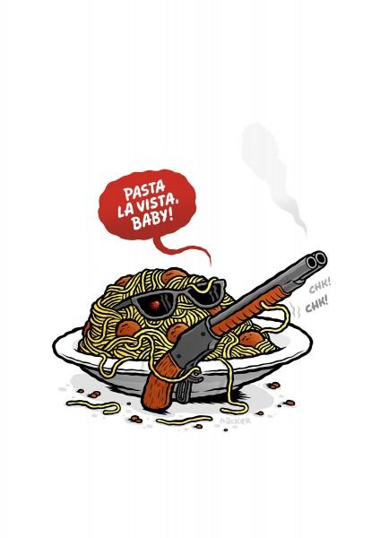Michael Hacker: Pasta La Vista, Baby!
