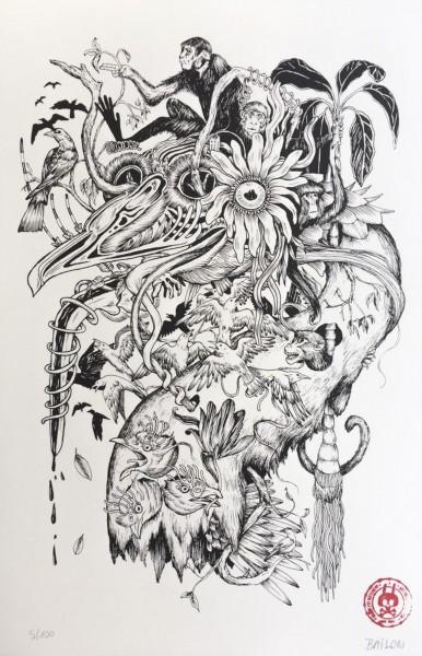 Mateus Bailon: Monkeys in my Head