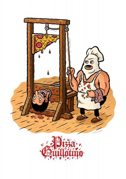 Michael Hacker: Pizza Guillotino