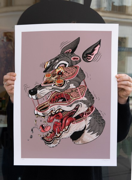 NYCHOS: Wolf Head Cross Section
