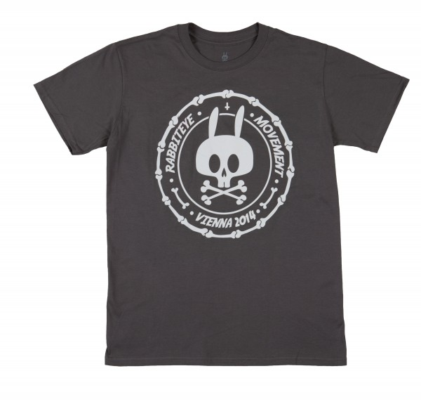 REM T-SHIRT STAMP GREY