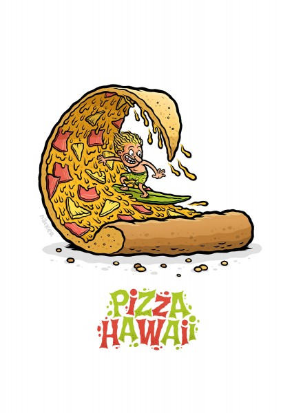 Michael Hacker: Pizza Hawaii